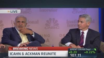 Icahn, Ackman, together again