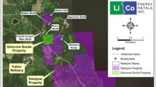 LiCo Energy Metals - Intersects 1.42% Co and 1.94% Cu Over 1.2 Metres on the Glencore Bucke Property