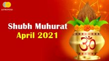 Shubh Muhurat: Major Auspicious and Festivals of April 2021
