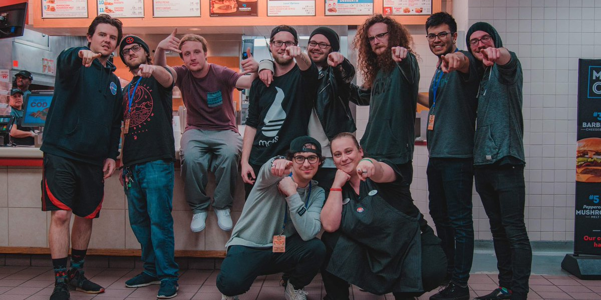 Metalcore and pop-punk bands perform crushing gig inside Wendy's