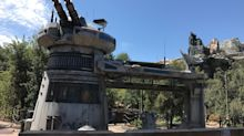 When will the Rise of the Resistance ride open at Disney's new Star Wars land?