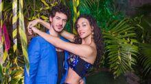Débora Nascimento posa com o namorado pela primeira vez