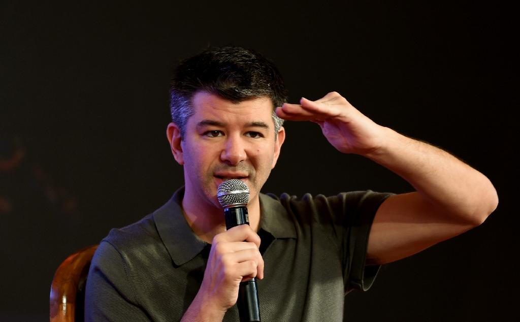 Uber co-founder Travis Kalanick may testify in a trial over trade secrets even though he is no longer leading the ridesharing giant (AFP Photo/MONEY SHARMA)