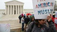 US Supreme Court leans toward backing Trump travel ban