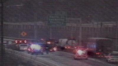 Pileup Slows NB I-75 Traffic