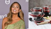 You Can Get A 22-Piece Cooking Set From Chrissy Teigen's Line For $400 Off RIGHT NOW