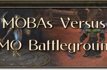 MMO Mechanics: MOBAs vs. MMO battlegrounds