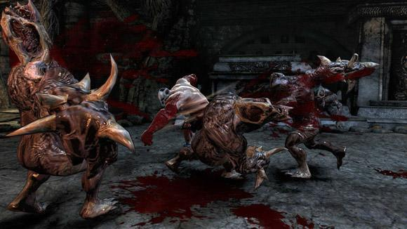 New Splatterhouse screens -- now with more blood!