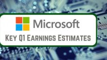 3 Key Estimates for Microsoft's Q1 Earnings Report