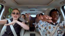 El 'Carpool Karaoke' de los chicos de 'Stranger Things' es lo que necesitábamos ver hoy