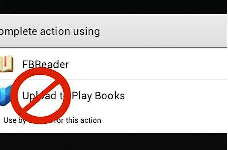 Google Play Books for Android temporarily loses PDF upload support
