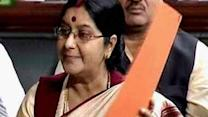 Swaraj claims never requested UK Govt. to arrange travel papers for Lalit Modi