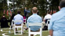 A une semaine de l'élection, Biden promet d'endiguer le Covid-19