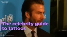 The celebrity guide to tattoos