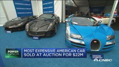 most expensive car ever sold at auction fetches 48 million. Black Bedroom Furniture Sets. Home Design Ideas