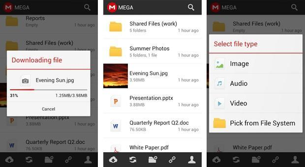 Kim Dotcom's Mega launches Android app, vows iOS and Windows apps soon