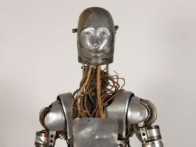 You can now own this old robot that helped NASA test space suits