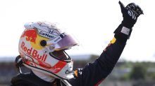 Verstappen wins historic sprint race to stretch title lead