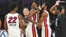 Heat, Celtics react to Bam Adebayo's Game 1 sealing block