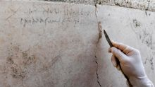 Pompeii volcano: Newly found inscription 'rewrites history' of the eruption of Mount Vesuvius