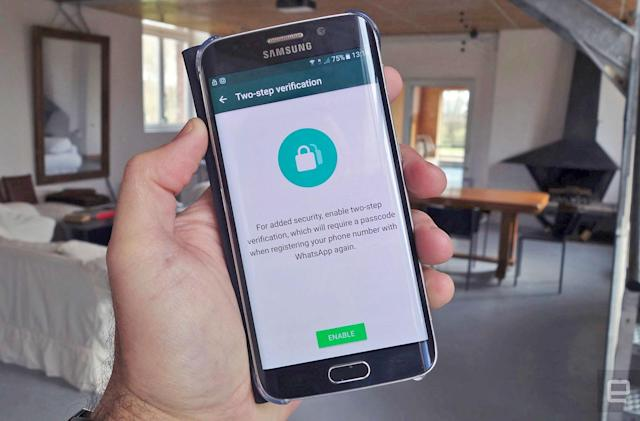 WhatsApp offers two-step verification to everyone
