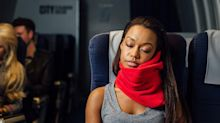 Traveling for the holidays? This innovative travel pillow is 'seriously a game-changer' — on sale for only $25!