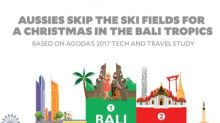 Aussies skip the ski fields for a Christmas in the Bali tropics