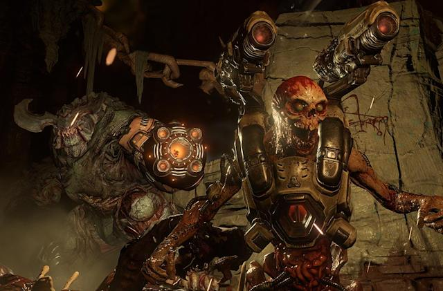 Sign up to try 'Doom' on PS4, XB1 or Steam this weekend