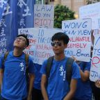 Thousands March in Hong Kong Against Sentencing of Pro-Democracy Activists