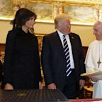 Pope Francis Gifts Trump Some Heavy Reading On Subject POTUS Calls 'Bulls**t'