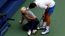 """Djokovic dice sentirse """"triste y vacío"""" tras las descalificación del US Open"""