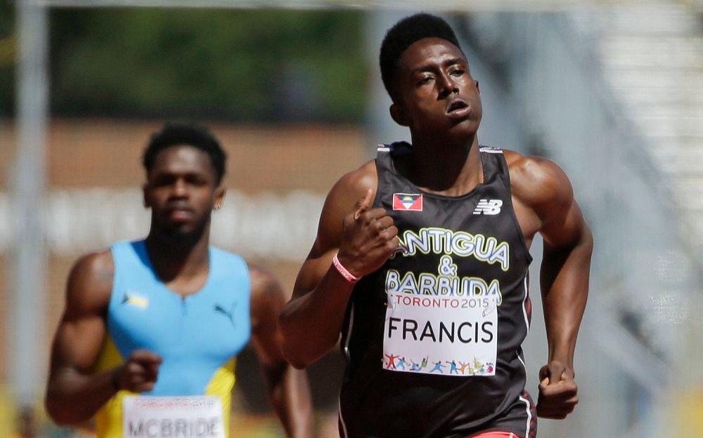 Miguel Francis has representedAntigua & Barbuda throughout his career - AP