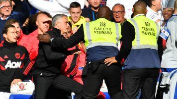 Chelsea's late equalizer incites sideline fracas