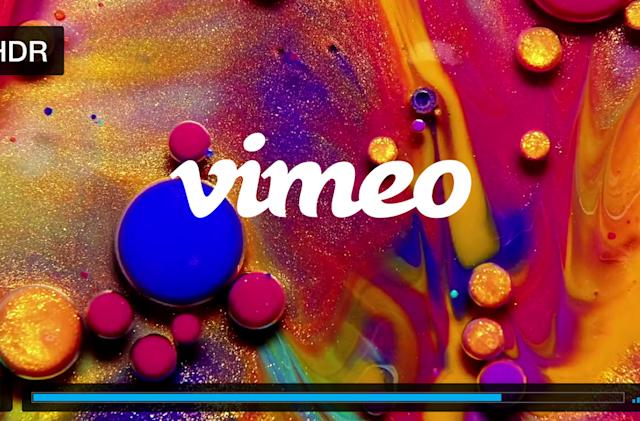 Vimeo can stream videos in 8K and HDR