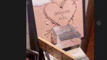Alex Rodríguez muestra el 'altar' que le construyó a Jennifer López