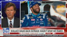Tucker Carlson claims Bubba Wallace is disappointed 'he can no longer pose as a victim'