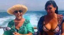 Lydia Lozano se marca un 'chuminero' de lujo en alta mar