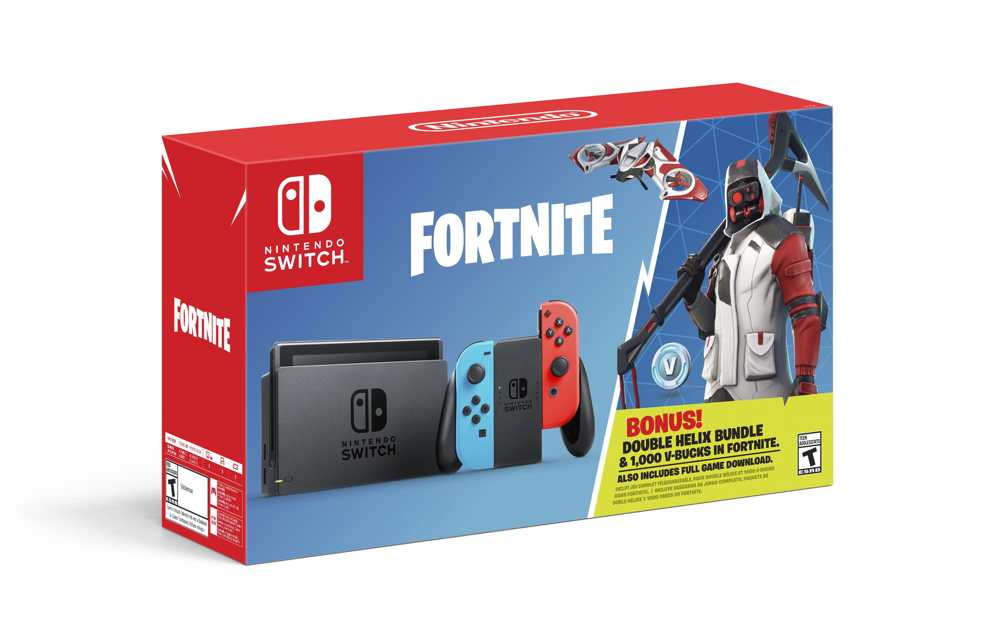 Nintendo Switch Fortnite Bundle Coming In October