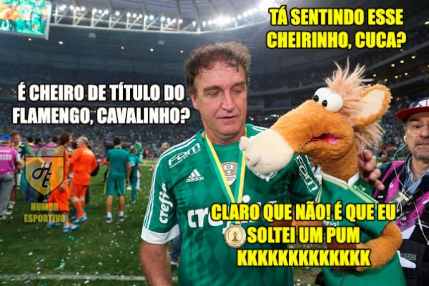 Palmeirenses zoam (e muito) a eliminação do Flamengo. Veja ...