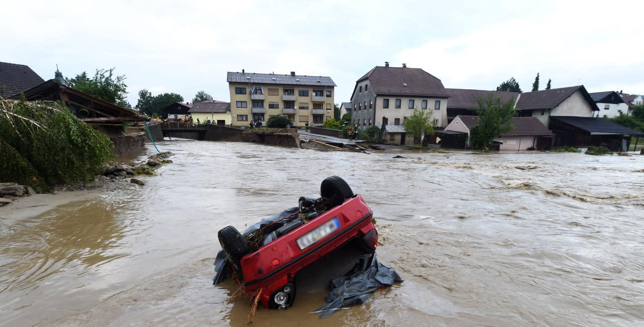 überschwemmungen In Bayern