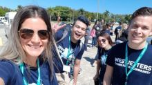 WestJetters build five new homes for families in Dominican Republic through WestJet Live Different Builds