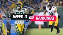 Week 3 Fantasy Football Wide Receiver Rankings