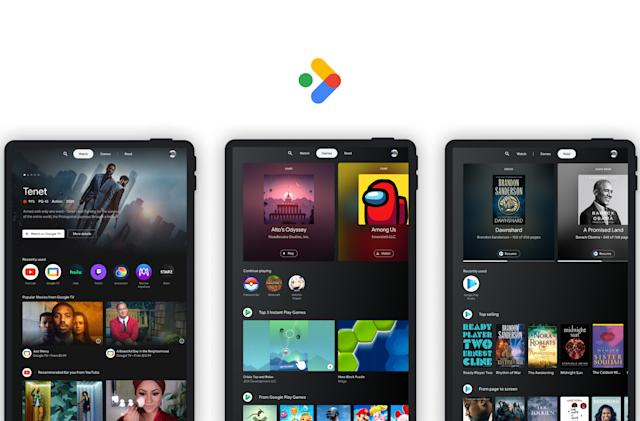 Google tries to make Android tablets fun with 'Entertainment Space'
