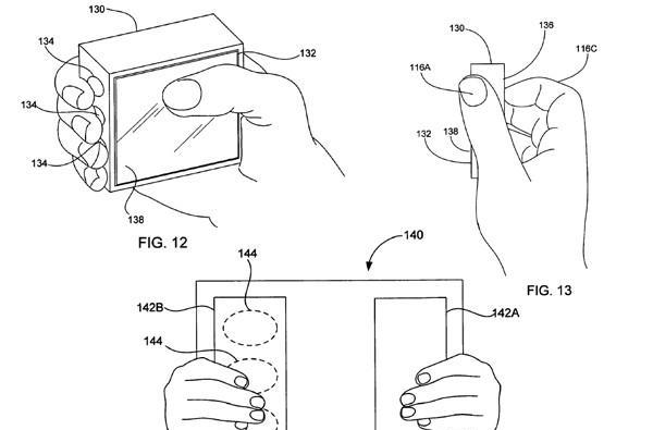 Apple granted patent for handheld that recognizes your hands