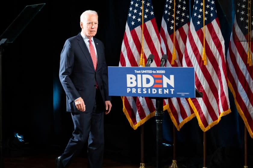 Joe Biden sweeps Bernie Sanders in March 17 primaries and widens delegate lead