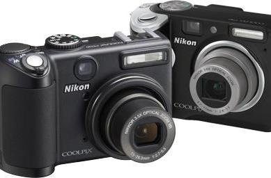 The Nikon Coolpix P5100 skipper and his P50 little buddy