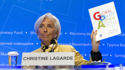 One theme is permeating the IMF's meeting