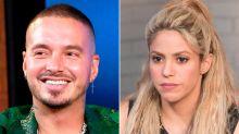 J Balvin se burla de Shakira durante una entrevista y las redes sociales no se lo perdonan