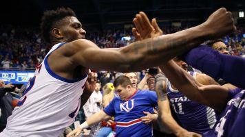 Kansas suspends De Sousa for role in brawl