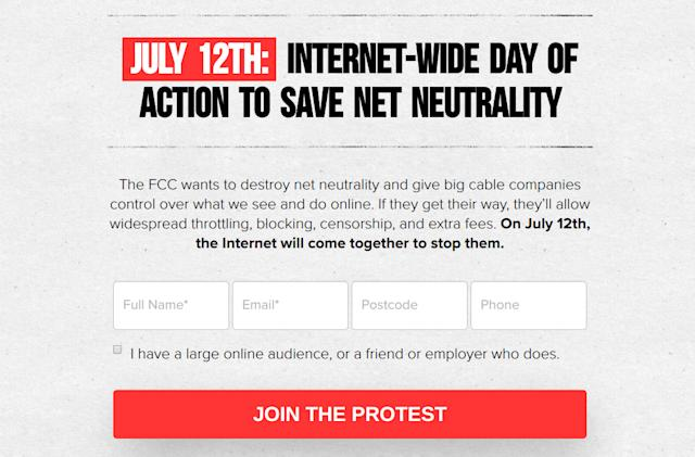 Net neutrality supporters sent over 5 million emails to the FCC